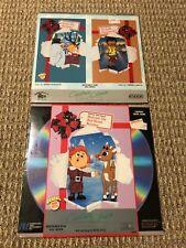Lot of 2 laserdisc for kids SEALED
