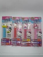 Hello Kitty Set Of 4 Pez Candy Dispensers