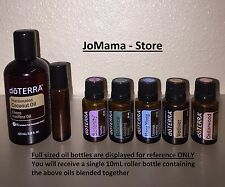 doTERRA Essential Oils - Peaceful Night's Sleep 10mL Roll On Blend - Buy 3 Get 1