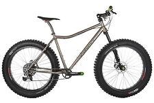 Mountain Bike in Silber