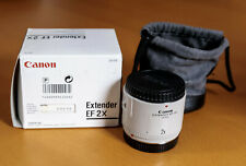 Barely used Canon extender EF 2X. Complete with original packaging