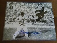 "BOLO YEUNG Signed ""ENTER THE DRAGON  w/ Bruce Lee"" 11x14 Photo PSA/DNA COA"