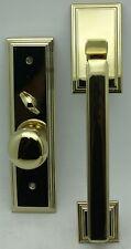 Emtek Entryset Providence Knob LH Brass F20331150HLORHUS3