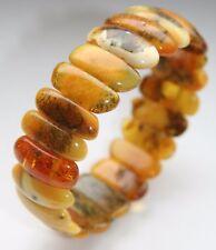 Amber Natural Butterscotch Egg Yolk Bracelet 20.7 g 波羅的海琥珀