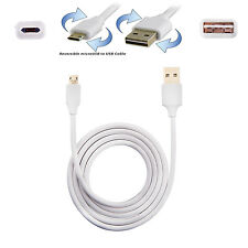 10/lot Micro USB Data Charging Cable Double Sided Pluggable Dual Side Face Plug