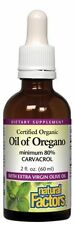 Certified Organic Oil of Oregano 2oz Liquid   Natural Factors -