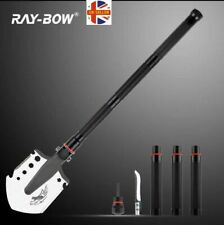 Military Apocalypse Survival Tool. 24-in-1 Folding Shovel, Tactical Defence