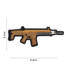 Gewehr G36 Scar Patch Klett Logo Abzeichen Airsoft Paintball Tactical Softair