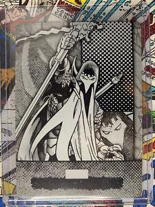 2012 Upper Deck Marvel Beginnings 2 Black Printing Plate 1/1 X-Cutioner #289