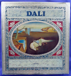 Salvador DALI First Edition Book 1968 With Fold-out pictures gold foil DJ - LOOK