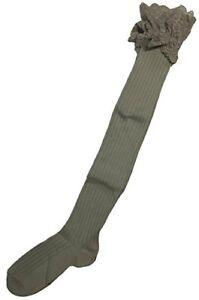 Simply Noelle Lace Boot Sock (Khakhi)