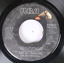 Rock 45 Daryl Hall John Oates - A Night At The Appolo Live / The Way You Do The