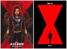 "Scarlett Johansson Black Widow 2020 Movie Fabric Silk Poster 18x12 - 40x27"""