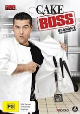 CAKE BOSS : SEASON 6 Collection  2   -  DVD - Region 2 UK Compatible