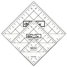"Bloc Loc 1.5"" 2.5"" & 3.5"" Half Square Triangle Rulers Set #4"