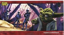 Star Wars Clone Wars Widevision Silver Stamped Parallel Base Card [500] #3