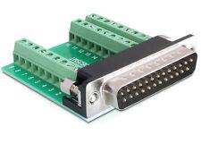 DeLOCK Adapter Sub-d 25 Pin Stecker