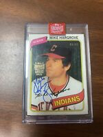 2019 Topps Signature Series Mike Hargrove Auto 43/85
