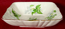 PARAGON china CANADIAN PROVINCIAL FLOWERS Trillium SWEET MEAT or CANDY BOWL
