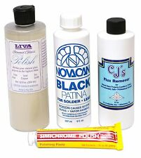 Stained Glass Supplies - Copper Foil Finishing Kit - Soldering Polishing