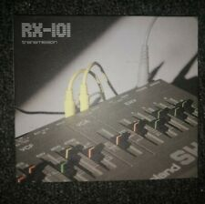 RX101 Transmission CD Aphex Twin Future Sound Of London Acid House Plastikman DJ