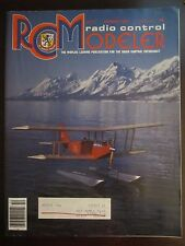 RCM Radio Control Modeler Magazine October 1983 Jackson Lake Grand Teton Park E