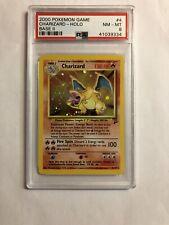 2000 Pokemon Base Set 2 Charizard Holo 4/130 PSA 8 NM-MT Nice