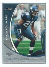 """2004 Upper Deck """"Sweet Spot Rookies"""" Michael Boulware #28 Football Card JK4."""