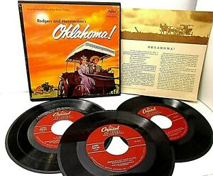 Capitol Records Rogers and Hammerstein's Oklahoma 595 45 RPM 3 of 4 Records