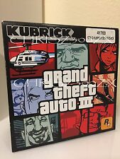 Grand Theft Auto 3 Kubrick Box Set Limited 3000 Rockstar Games - RARE Brand New