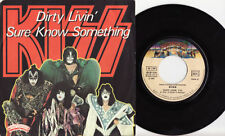 Kiss Single 45 RPM Speed Vinyl Records