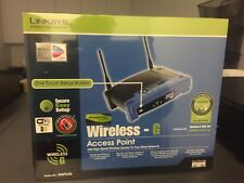 Linksys WAP54G Wireless Access Point Router 2.4GHz ~ Brand New in Shrink Wrap
