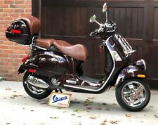 New Listing2014 Vespa Gtv 300 ie Espresso, Only 615 Miles, Excellent Condition!