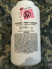 Master Clear Chlorine Granules Spa 5 lbs Concentrated Sanitizer NEW