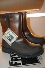NIB  FRYE Men's Alaska Pull On Rain Boot Whiskey Multi 10 M  Leather STYLE 86162