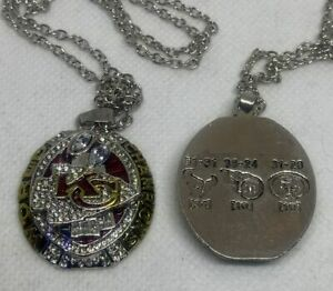 2019 Kansas City Chiefs NFL Champions NECKLACE and CHAIN *SHIPS TODAY*