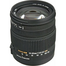 Sigma 18-125Mm HSM-f/3.8-5.6 OS DC Lens For Nikon, London