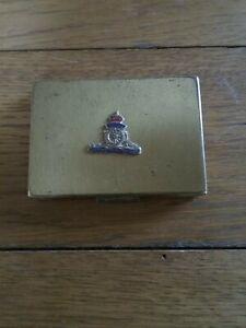 WW2 period Royal Artillery Compact Case