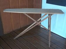 Primitive Vintage Old Used Wood Ironing Board good for decor