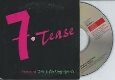 THE WORKING GIRLS - 7.Tease CD SINGLE 2TR CARDSLEEVE Disco 1996 HOLLAND