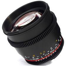 Samyang 85mm T1.5 AS IF UMC VDSLR II Video Lens CANON EOS cine -NEW VERSION UK