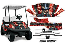 Club Car Precedent Golf Cart Graphic Kit Wrap Parts AMR Racing Decals HATTER RED