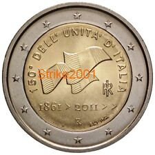 2 EURO COMMEMORATIVO ITALIA 2011 150 UNITA' ITALIA