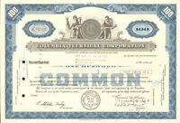 Columbia Technical Corporation stock certificate share