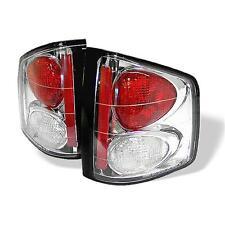 Tail Lights Chevy S10 GMC Sonoma 94-04 Isuzu Hombre 96-00 Altezza - Chrome