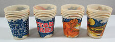 Vintage 57 STAR WARS 1980 Dixie Cups Assortment Greedo Darth Vader C3PO Leia