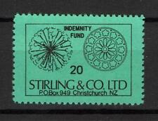 New Zealand Revenue Indemnity Fund Stirling & Co Christchurch private issues