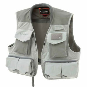SIMMS Freestone Vest - Color Smoke M - CLEARANCE! Free Shipping!
