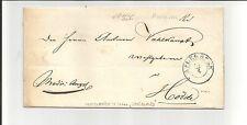 Di Prussia V./Aplerbeck 24/4, k2 M. dat. - Str. A. Pra. - LETTERA 1844