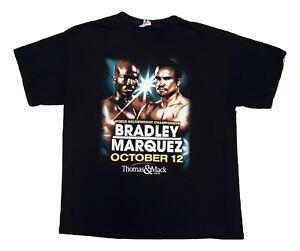 Tim Bradley Vs Juan Marquez Boxing World Welterweight Mens XL Shirt 10/12/2013
